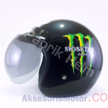 Helm JPN Retro Monster Classic