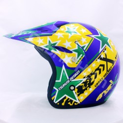 Helm JPN Cross PC18 Motif Star