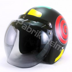 Helm Alice Retro Motif Lollipop Doff