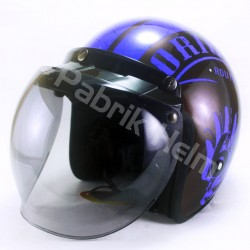 Helm Alice Retro Motif Original 66 Glossy