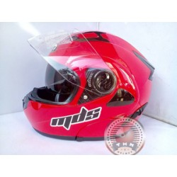 Helm MDS Pro Rider Solid Red